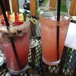 The special and Pink Salty Dog