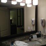 bathroom, cool lighting