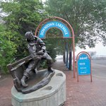 Canal Park statue