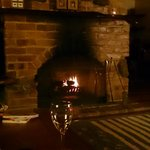 Lounge room fireplace