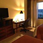 Bedroom - TV & Desk