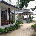 bungalow en restaurant