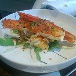 King crab was delicious