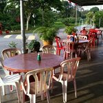 Alfresco dinning area