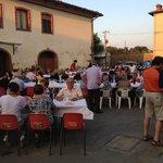 cena in piazza