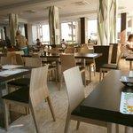 Sala ristorante dal design moderno