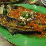 Ikan Aji-aji Bakar Rica