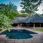 Blyde River Canyon Lodge: Pool and view