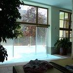 piscina all'aperto e riscaldata
