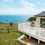 Stunning sea views at Devon Cliffs
