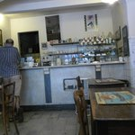 the cafe Caffelatte in Florence