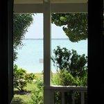 Vista del mare dal soggiorno