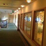 korytarz - z boku sala śniadaniowa