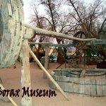 Exposition en plein air des anciennes machines des mines