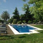 La esplendida piscina