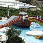 Aquapark Kinderrutschen