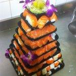 pieces monte sushi