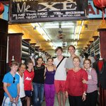 Mr Xe's staff and our family