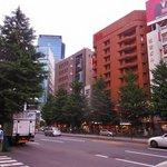 L'hotel se trouve à 5 minutes de la gare de Shinjuku.