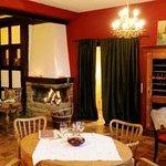"The cosy interiors of our restaurant ""Das Landhaus"""