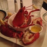 My Anniversary Lobster at Alfredo's Thursday Special.