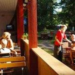 "The restaurant ""Sandbank"""