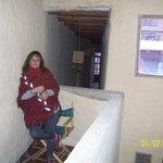 Pasillo interno/habitaciones