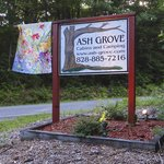 Ash Grove sign