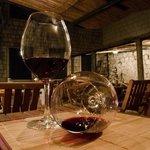 Wine in glass 4