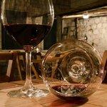 Wine in glass 5