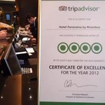 Hotels Certificate of Excelence