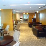 Executive Lounge 1 with snacks and unlimited drinks