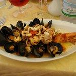 guazzetto di frutti di mare