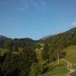 La tranquillità dalla finestra del Rifugio Monte Baldo