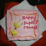 Honeymoon cake