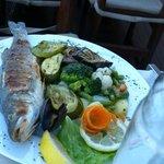 dinner at restaurant of hotel