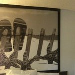 Wall decoration in room