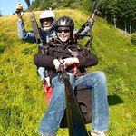 Tandem paragliding with Parafly