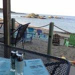 Chowder's: Seaside at sunset