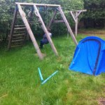 Play structure outside