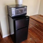 Refrigerators and microwave are our newest upgrade!