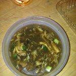 quite good hot n sour soup