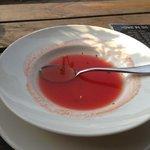 watermelon juice named as gaspaccio.