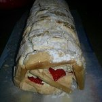 summers here home-made roulade !! yum