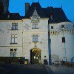 porte d entrée du chateau
