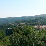 panorama dalla country house