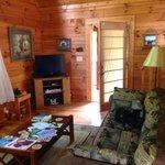 Living room/front door.