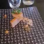 foie gras et sa gelée de melon