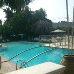 άποψη πισίνας