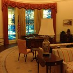 Mockup of Oval Office